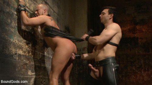 Rough slave torture with new dom